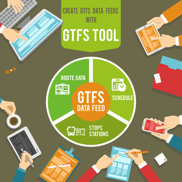 Create GTFS Data Feeds - GTFS Tool