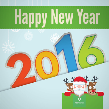 Happy New Year from AddTransit
