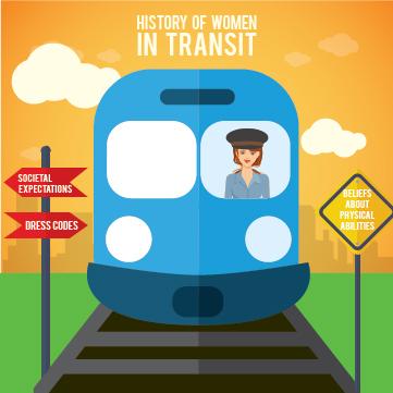 History of Women in Transit: Inspirational Women in Transport