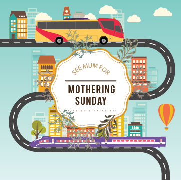 Take Transit to See Mum this Mothering Sunday