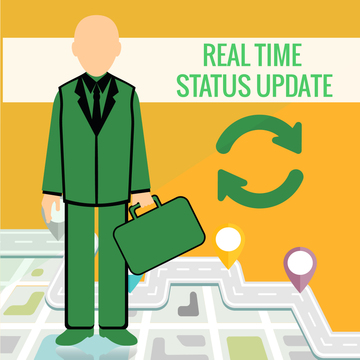 Customers expect Real Time Status updates